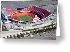 Arrowhead Stadium Kansas City Missouri Greeting Card