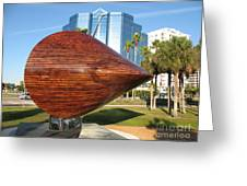 Art 2009 At Sarasota Waterfront Greeting Card
