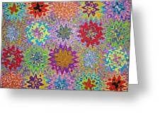Art Abstract Background 13 Greeting Card