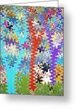 Art Abstract Background 14 Greeting Card