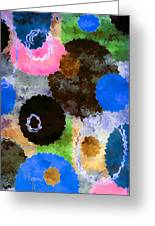 Art Abstract Background 19 Greeting Card