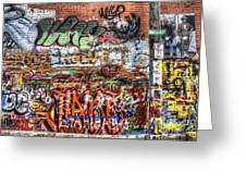 Art Alley Greeting Card