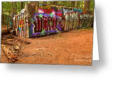 Art Along The Cheakamus River Greeting Card