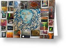 Art At Supeme Lending Greeting Card