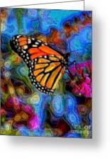 Art B-fly Greeting Card
