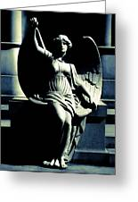 Art Deco Angel Greeting Card