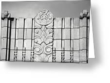 Art Deco Design Greeting Card