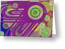 Art Deco Explosion 6 Greeting Card