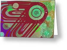 Art Explosion 5 Greeting Card