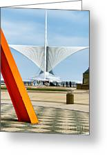 The Milwaukee Art Museum By Santiago Calatrava Greeting Card