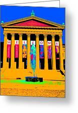Art Museum -philadelphia Greeting Card
