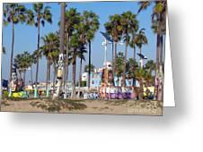 Art Of Venice Beach Greeting Card