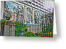 Art On The Wall Greeting Card