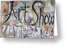 Art Show Greeting Card