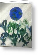 Art Therapy 12 Greeting Card