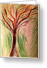 Art Therapy 185 Greeting Card