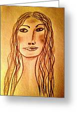 Art Therapy 188 Greeting Card