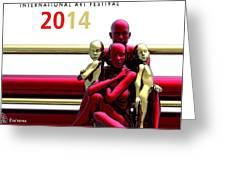 Artcevia International Art Festival - 2014 Greeting Card