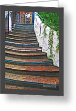 Artful Stair Steps Greeting Card