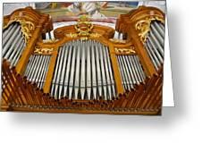 Arth Goldau Organ Greeting Card