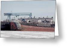Arthur Anderson Freighter Greeting Card
