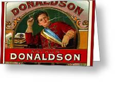 Arthur Donaldson Greeting Card