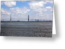 Arthur Ravenel Bridge Greeting Card