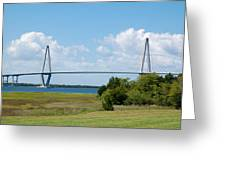 Arthur Ravenel Jr Bridge Greeting Card