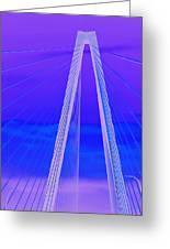 Arthur Ravenel Jr Bridge Iv Greeting Card