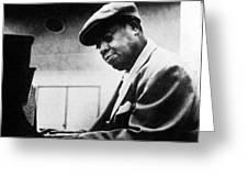 Arthur Tatum (1910-1956) Greeting Card by Granger