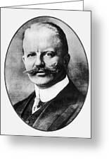 Arthur Zimmermann (1864-1940) Greeting Card