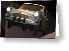 Arthur's Flying Ford Anglia Greeting Card