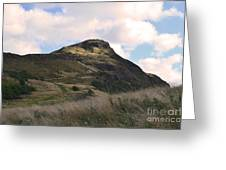 Arthur's Seat In Edinburgh Greeting Card