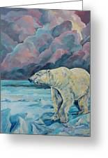 Artic Wanderer Greeting Card