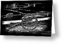 Artillery At Gettysburg Greeting Card