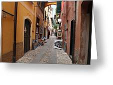 Artisan Alley Portofino Italy Greeting Card