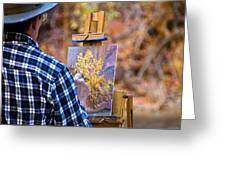Artist At Work - Zion Greeting Card