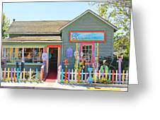 Artist Gallery In Cambria California  7142 Greeting Card