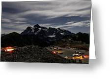 Artist Point Night Photography Greeting Card