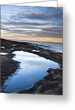 Artist Point Reflection Pool Greeting Card by Thomas Pettengill