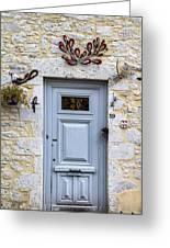 Artistic Door Greeting Card by Georgia Fowler