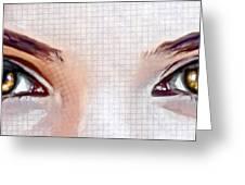 Artistic Eyes Greeting Card