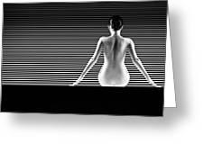 Artistic Nude Greeting Card