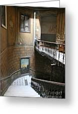 Artistic Staircase In Tbilisi Greeting Card