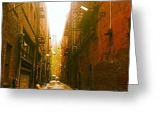 Artist's Alley Greeting Card