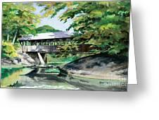 Artists Bridge September Greeting Card