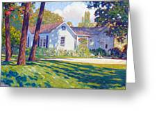 Artists Home Greeting Card