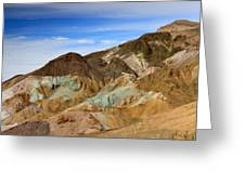 Artists Palette Death Valley National Park Greeting Card