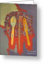 Artist's Pallete Greeting Card by Elizabeth Stedman