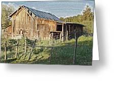 Artwork Barn Greeting Card